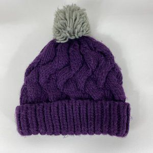 *Beautiful Purple Stocking Cap*